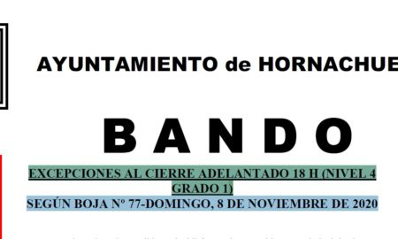BANDO-EXCEPCIONES