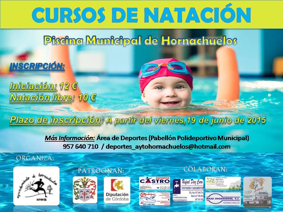 Cartel Cursos de Natación 2015