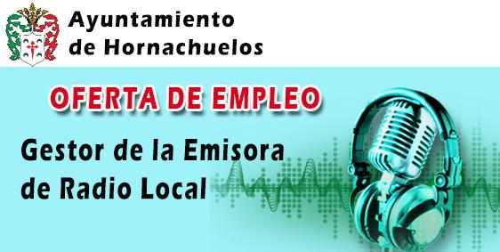 Oferta Empleo Radio Hornachuelos