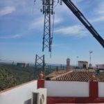El transformador eléctrico de la calle Iñigo Muñoz ya se ha desmontado