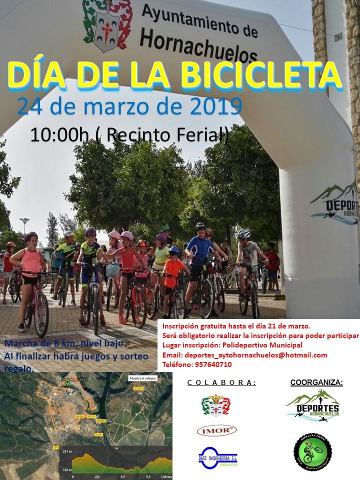 día de la bicicleta en Hornachuelos