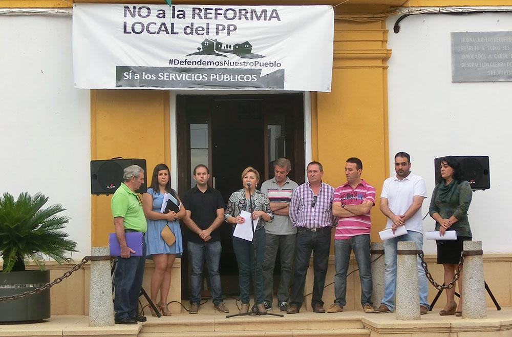 El Ayuntamiento de Hornachuelos contra la reforma de la administración local